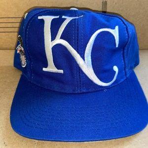 Kansas City royals vintage MLB baseball cap hat 90